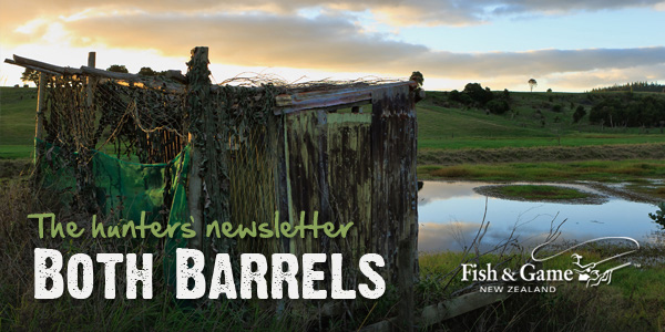 Both Barrels from Fish & Game NZ - April 2012