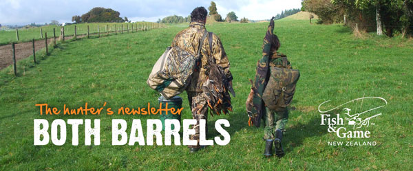 Both Barrels from Fish & Game NZ - March 2015